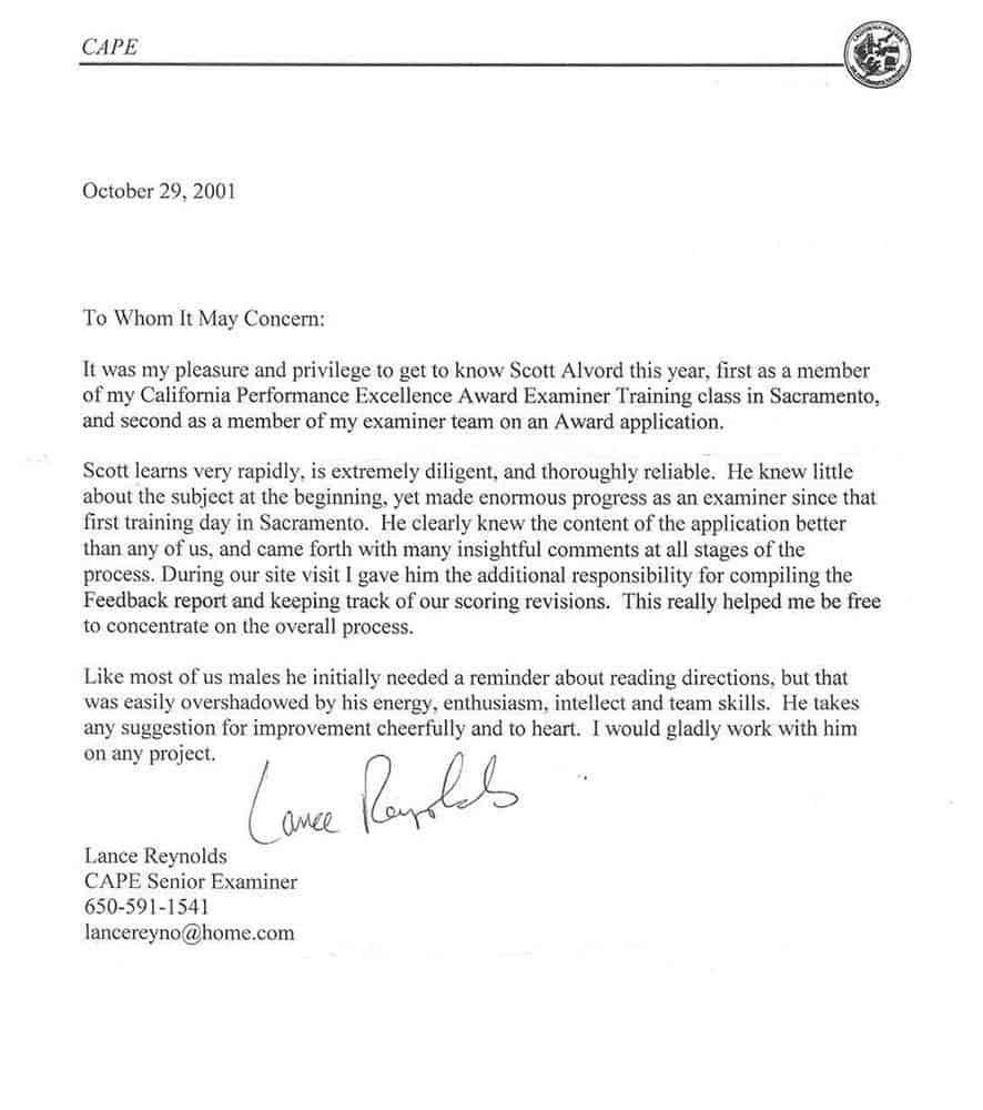 Рекомендательное Письмо Студенту на Английском образец
