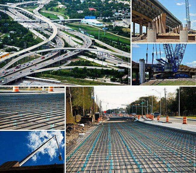 Как строят американские дороги?
