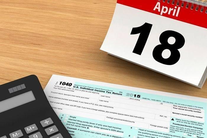 крайний срок подачи налоговой декларации в сша